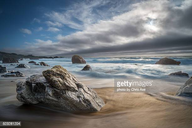 Garrapata Beach Exposed - Big Sur, CA