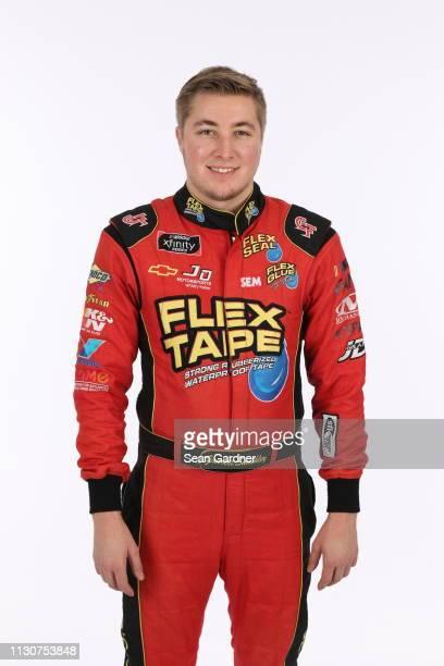 Garre Smithley poses for a photo at Daytona International Speedway on February 15 2019 in Daytona Beach Florida