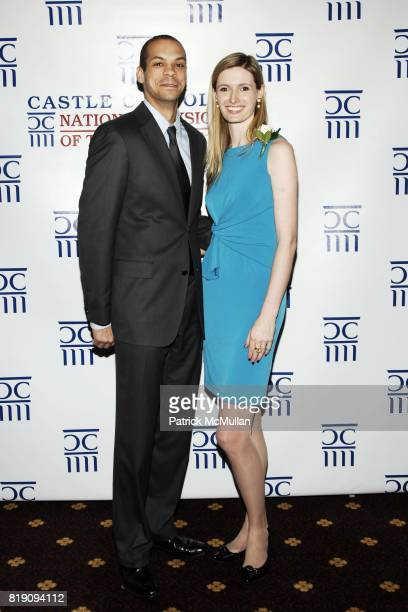 Garren Givens and Alexandra Reeve Givens attend CASTLE CONNOLLY Medical Ltd 5th Annual National Physician of the Year Awards at The Hudson Theater on...