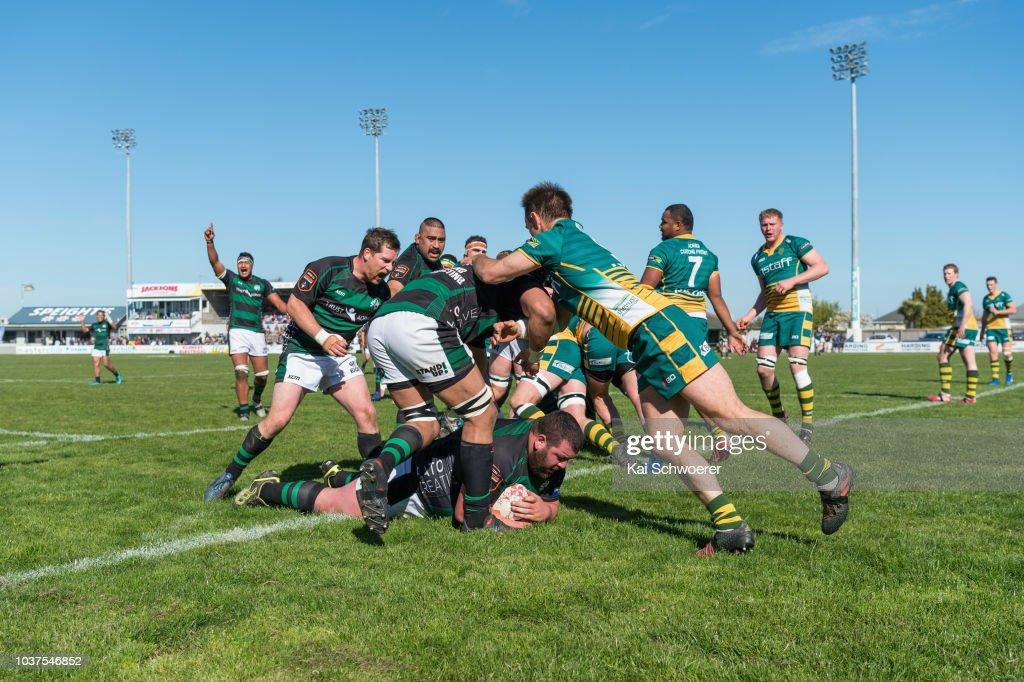 Heartland Championship - South Canterbury v Mid Canterbury