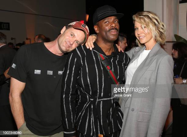 Garret Dillahunt Colman Domingo and Jenna Elfman attend AMC's 'Better Call Saul' Premiere during Comic Con 2018 at UA Horton Plaza on July 19 2018 in...