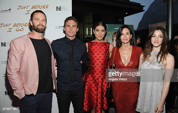 Garret Dillahunt Seann William Scott Kate Walsh Courteney Cox and Olivia Thirlby attend the Los Angeles Special Screening of Just Before I Go at...