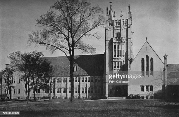 Garrett Biblical Institute Evanston Illinois 1926 A Methodist school of theology on the campus of Northwestern University From The Architectural...