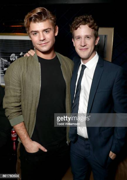 Garrett Clayton and Alex Wyse attend National Breast Cancer Coalition Fund's 17th Annual Les Girls Cabaret at Avalon Hollywood on October 15 2017 in...