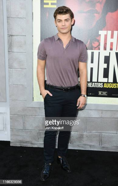 Garrett Clayton attends the Premiere Of Warner Bros Pictures' The Kitchen at TCL Chinese Theatre on August 05 2019 in Hollywood California