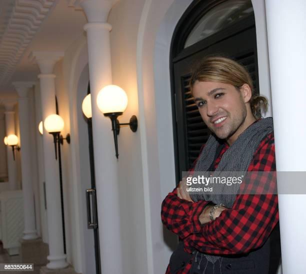 Garrett David Musiker Violinist Klassik D/USA stellt bei einem Pressetermin im Hotel Westin Grand in Berlin seine DVD vor