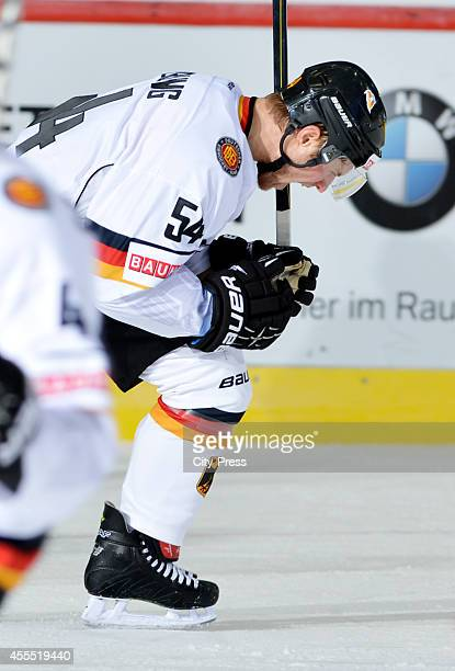 Garrett Festerling during the olympic qualification game between Germany and Italy on February 08 in Bietigheim Germany
