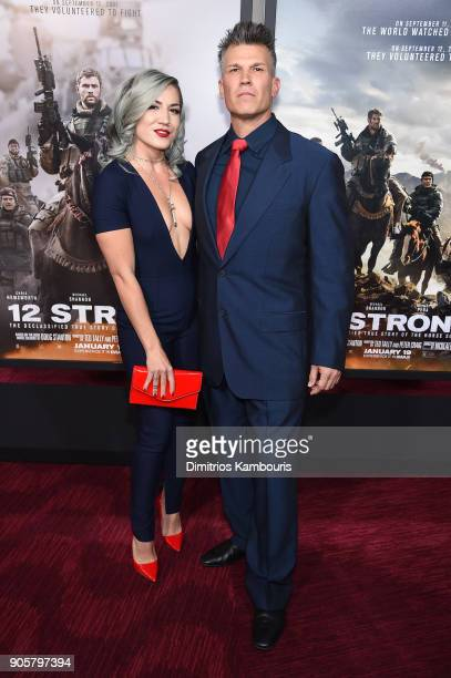 Garrett Grant attends the world premiere of '12 Strong' at Jazz at Lincoln Center on January 16 2018 in New York City