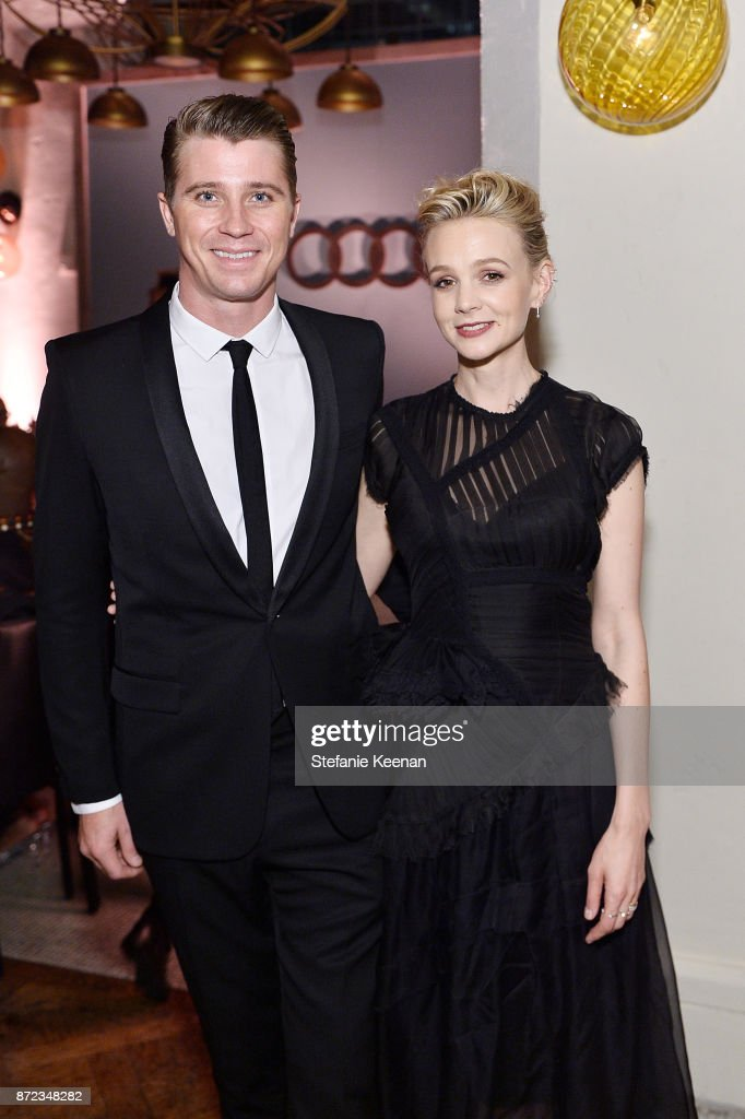 Garrett Hedlund and Carey Mulligan attend Audi Hosts Opening Night Dinner For AFI & Netflix 'Mudbound' at Hollywood Roosevelt Hotel on November 9, 2017 in Hollywood, California.