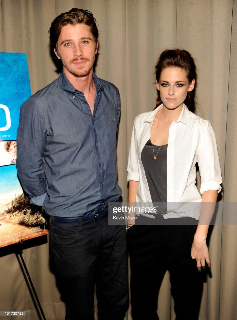 Garrett Hedlund and Kristen Stewart attend 'On The Road' New York Screening at Disney Park Avenue on September 10, 2012 in New York City.
