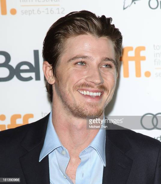 Garrett Hedlund arrives at On The Road premiere during the 2012 Toronto International Film Festival held at Ryerson Theatre on September 6 2012 in...