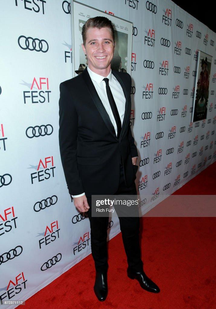 Garrett Hedlund at the Opening Night Gala presentation of 'MUDBOUND' on November 9, 2017 in Hollywood, California.