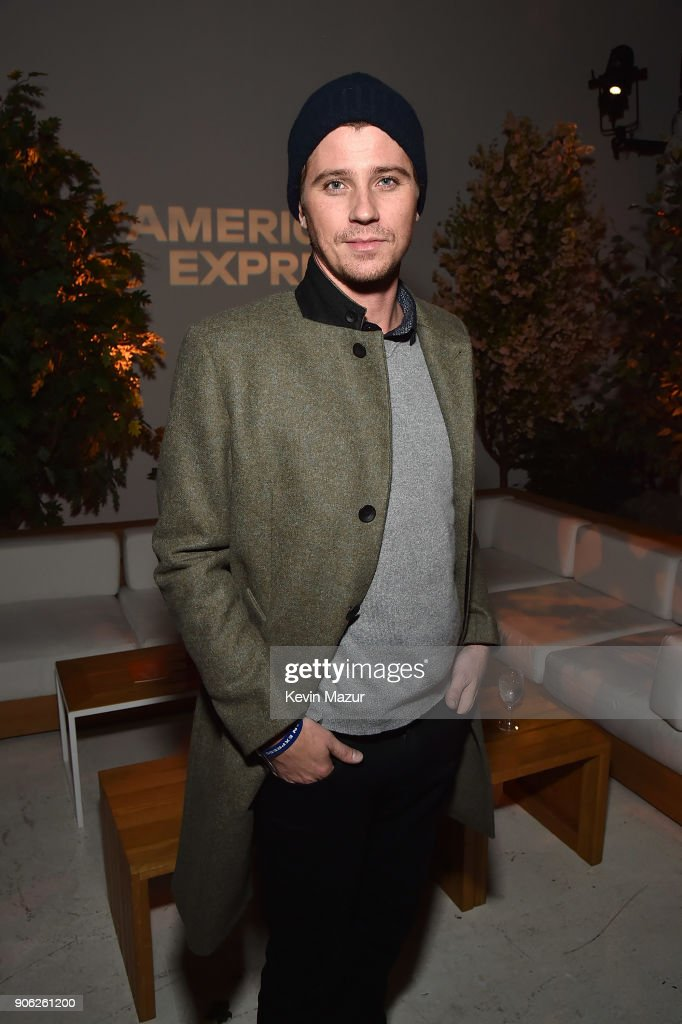 Garrett Hedlund attends American Express x Justin Timberlake 'Man Of The Woods' listening session at Skylight Clarkson Sq on January 17, 2018 in New York City.