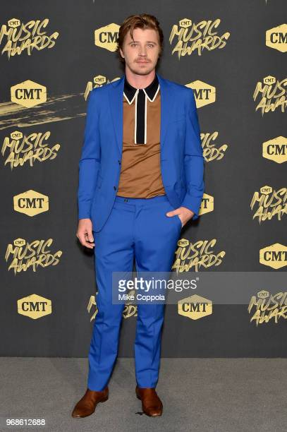Garrett Hedlund attends the 2018 CMT Music Awards at Bridgestone Arena on June 6 2018 in Nashville Tennessee