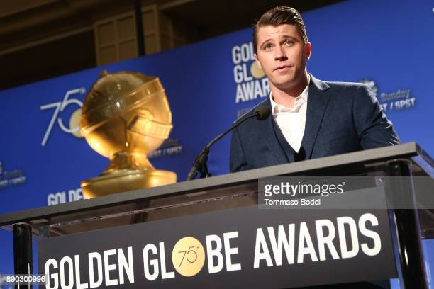 Garrett Hedlund attends the 75th Annual Golden Globe Nominations Announcement on December 11 2017 in Los Angeles California
