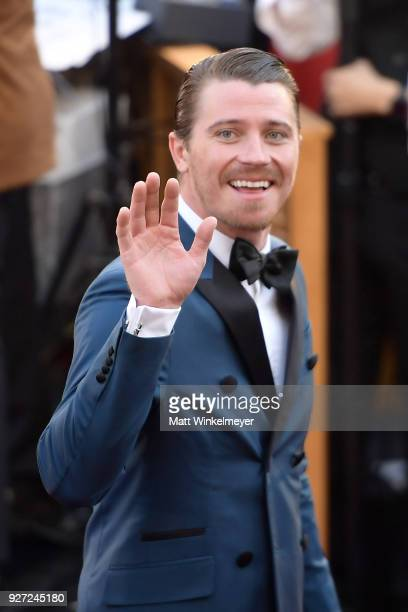 Garrett Hedlund attends the 90th Annual Academy Awards at Hollywood Highland Center on March 4 2018 in Hollywood California
