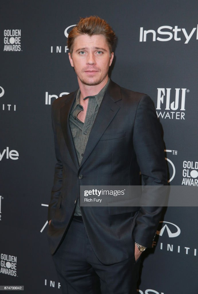Garrett Hedlund attends the Hollywood Foreign Press Association and InStyle celebrate the 75th Anniversary of The Golden Globe Awards at Catch LA on November 15, 2017 in West Hollywood, California.