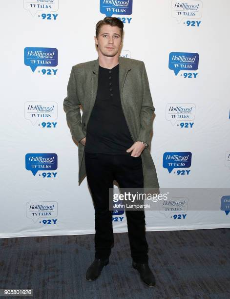 Garrett Hedlund attends the Hollywood Reporter TV Talks 92Y Present HBO's 'Mosaic' on January 16 2018 in New York City