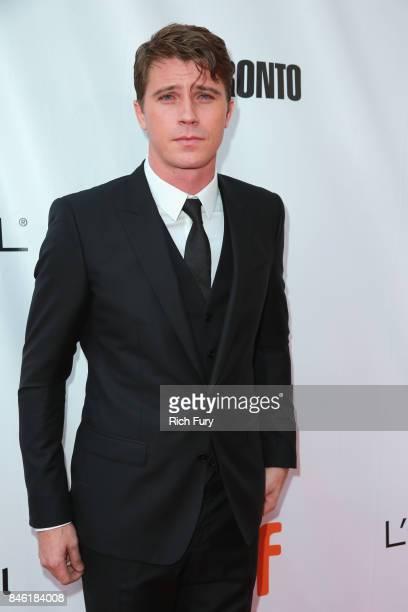 Garrett Hedlund attends the Mudbound premiere during the 2017 Toronto International Film Festival at Roy Thomson Hall on September 12 2017 in Toronto...