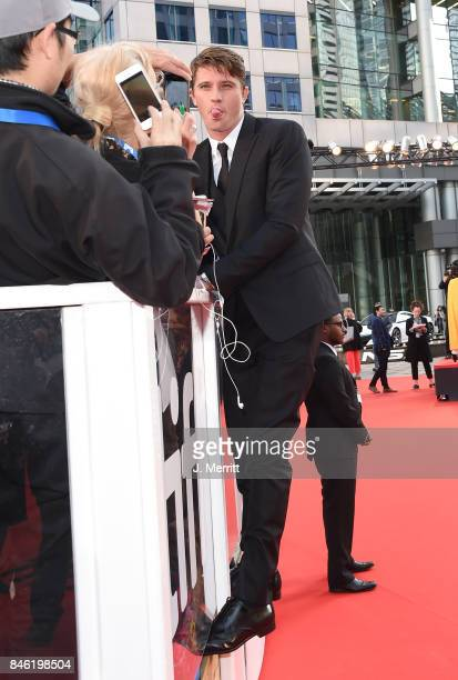 Garrett Hedlund attends the 'Mudbound' premiere during the 2017 Toronto International Film Festival at Roy Thomson Hall on September 12 2017 in...