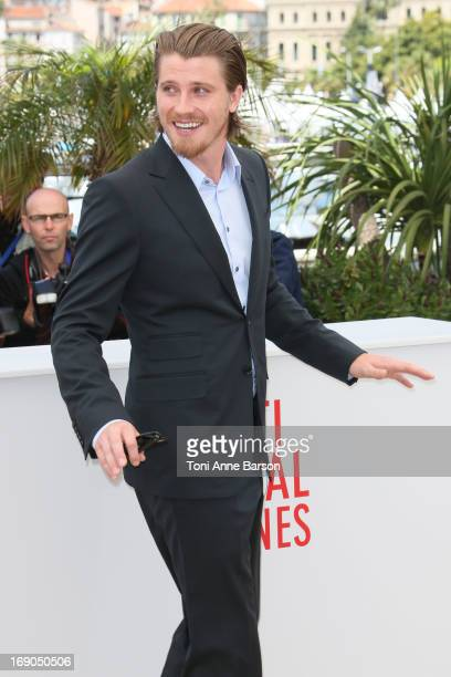 Garrett Hedlund attends the photocall for 'Inside Llewyn Davis' during the 66th Annual Cannes Film Festival at Palais des Festivals on May 19, 2013...