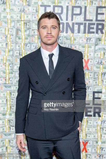 Garrett Hedlund attends the Triple Frontier World Premiere at Jazz at Lincoln Center on March 03 2019 in New York City