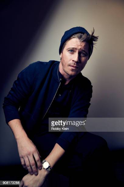 Garrett Hedlund from the film 'Burden' poses for a portrait at the YouTube x Getty Images Portrait Studio at 2018 Sundance Film Festival on January...