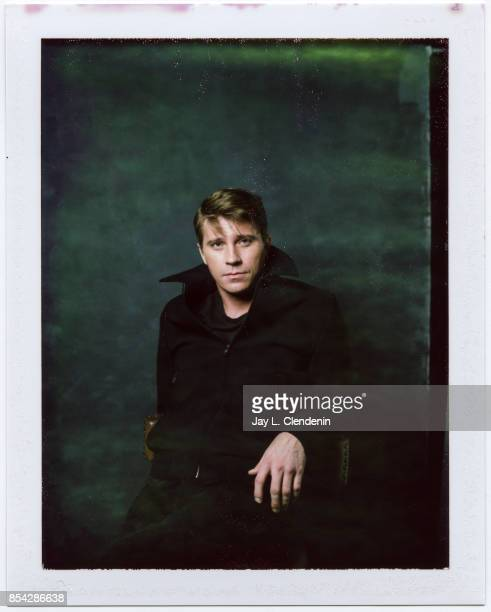 Garrett Hedlund from the film 'Mudbound' is photographed on polaroid film at the LA Times HQ at the 42nd Toronto International Film Festival in...