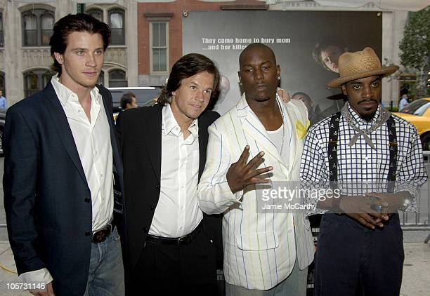 Garrett Hedlund Mark Wahlberg Tyrese Gibson and Andre Benjamin