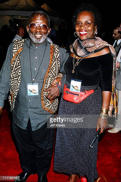 Garrett Morris and Freda during 1996 MTV's Launch Party for TV Land at Paramount Pictures in Los Angeles California United States