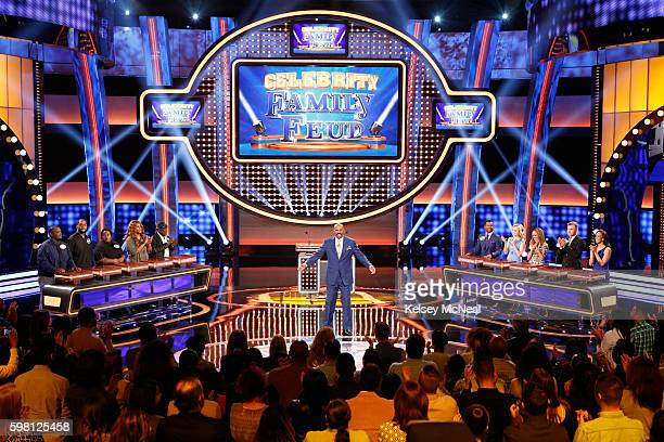 FEUD Garrett Morris vs Alfonso Ribeiro and Todd Chrisley vs Sara Evans The celebrity teams competing to win cash for their charities feature the...