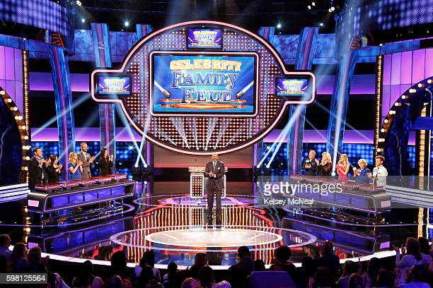 """Garrett Morris vs Alfonso Ribeiro and Todd Chrisley vs Sara Evans"""" - The celebrity teams competing to win cash for their charities feature the family..."""