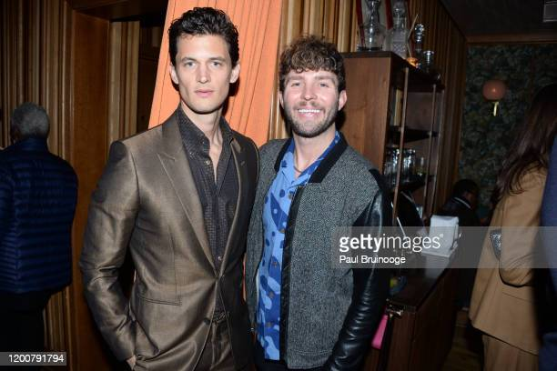 Garrett Neff and Timo Weiland attend MAC Nordstrom And The CFDA Host The After Party For The Times Of Bill Cunningham at Bistrot Leo on February 13...