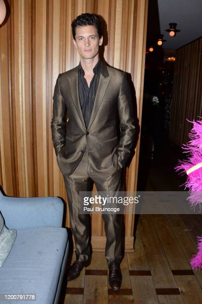 Garrett Neff attends MAC Nordstrom And The CFDA Host The After Party For The Times Of Bill Cunningham at Bistrot Leo on February 13 2020 in New York...