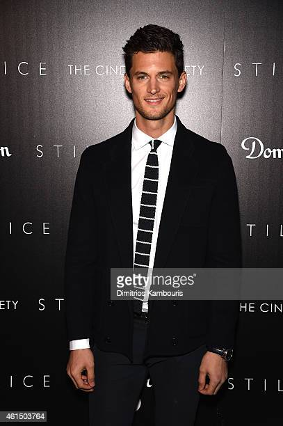 Garrett Neff attends The Cinema Society with Montblanc and Dom Perignon screening of Sony Pictures Classics' Still Alice at Landmark's Sunshine...