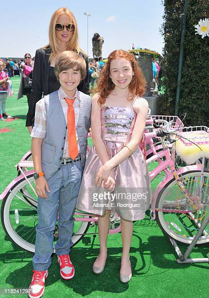 Garrett Ryan and actress Jordana Beatty attend the after party for the premiere of Relativity Media's Judy Moody And The NOT Bummer Summer on June 4...