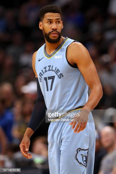 Garrett Temple of the Memphis Grizzlies plays the Denver Nuggets at the Pepsi Center on December 10 2018 in Denver Colorado NOTE TO USER User...
