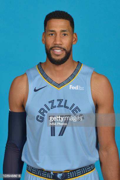 Garrett Temple of the Memphis Grizzlies poses for a head shot during media day on September 24 2018 at FedExForum in Memphis Tennessee NOTE TO USER...