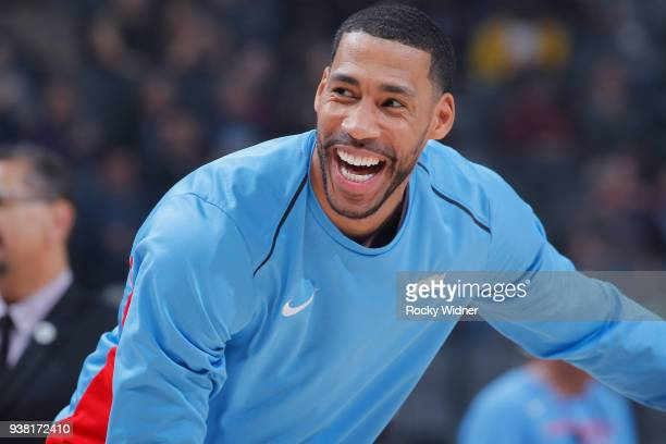 Garrett Temple of the Sacramento Kings looks on during the game against the Detroit Pistons on March 19 2018 at Golden 1 Center in Sacramento...