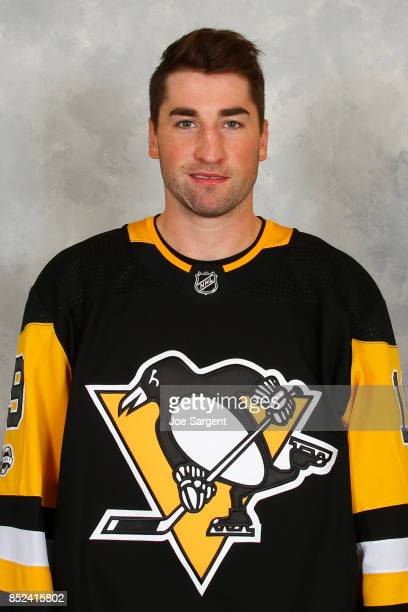 Garrett Wilson of the Pittsburgh Penguins poses for his official headshot for the 20172018 season on September 14 2017 at the UPMC Lemieux Sports...