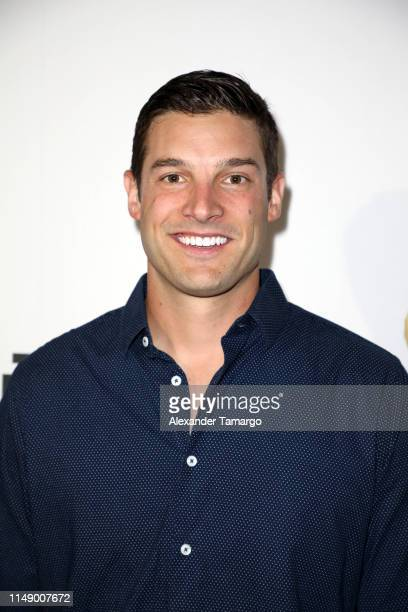 Garrett Yrigoyen is seen at ABC's Grand Hotel Premiere on June 10 2019 in Miami Beach Florida