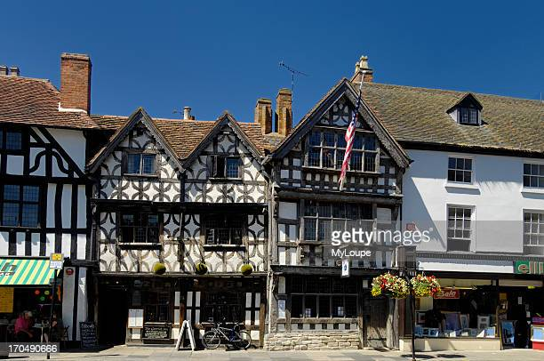 Garrick Inn and Harvard House Stratford on Avon England United Kingdom