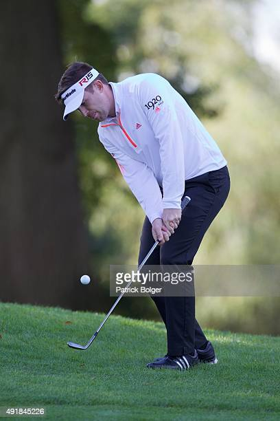 Garrick Porteous from England at Mount Wolseley Hotel Spa and Golf Resort on October 8 2015 in Carlow Ireland