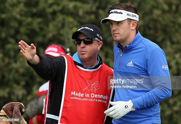 Garrick Porteous of England in action during the second round of the Made In Denmark at Himmerland Golf Spa Resort on August 15 2014 in Aalborg...