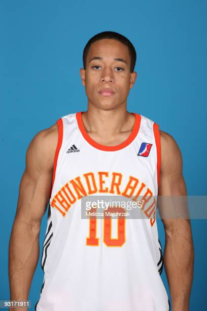 Garrison Carr of the Albuquerque Thunderbirds pose for a photo during media day at Hope Christian High School on November 17 2009 Albuquerque New...