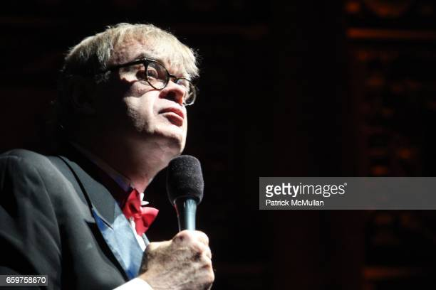Garrison Keillor attends THE MOTH BALL GALA at Capitale on November 17 2009 in New York City