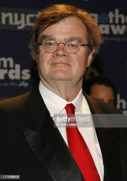 Garrison Keillor during IFP's 16th Annual Gotham Awards Red Carpet at Pier 60 Chelsea Piers in New York City New York United States
