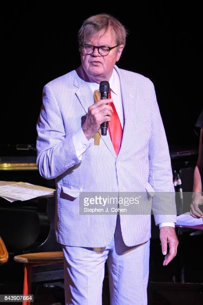 Garrison Keillor performs at Iroquois Amphitheater on September 7 2017 in Louisville Kentucky