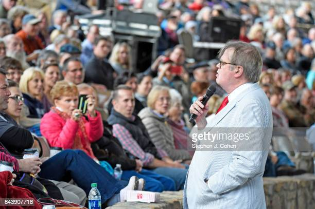 Garrison Keillor performs at Iroquois Amphitheater on September 7 2017 in Louisville Kentucky