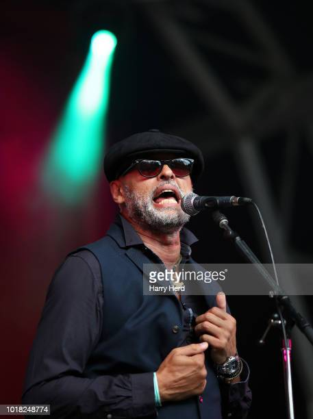 Martin Turner performs at Weyfest Festival on August 18 2018 in Tilford England